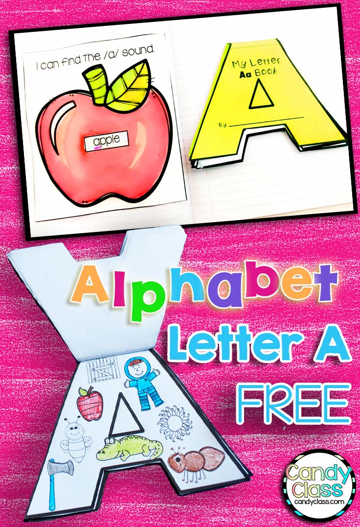 Alphabet Interactive Notebook Craft Book Freebie