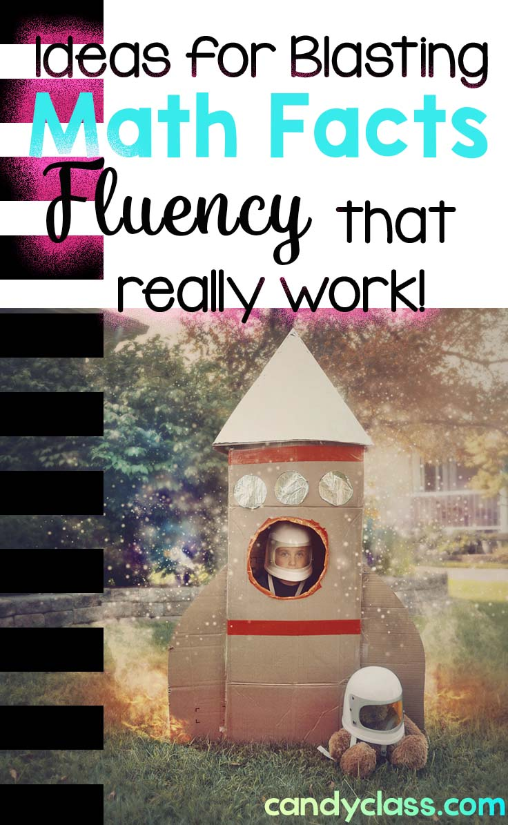 Activities and ideas for mastering math facts fluency with addition and subtraction facts.