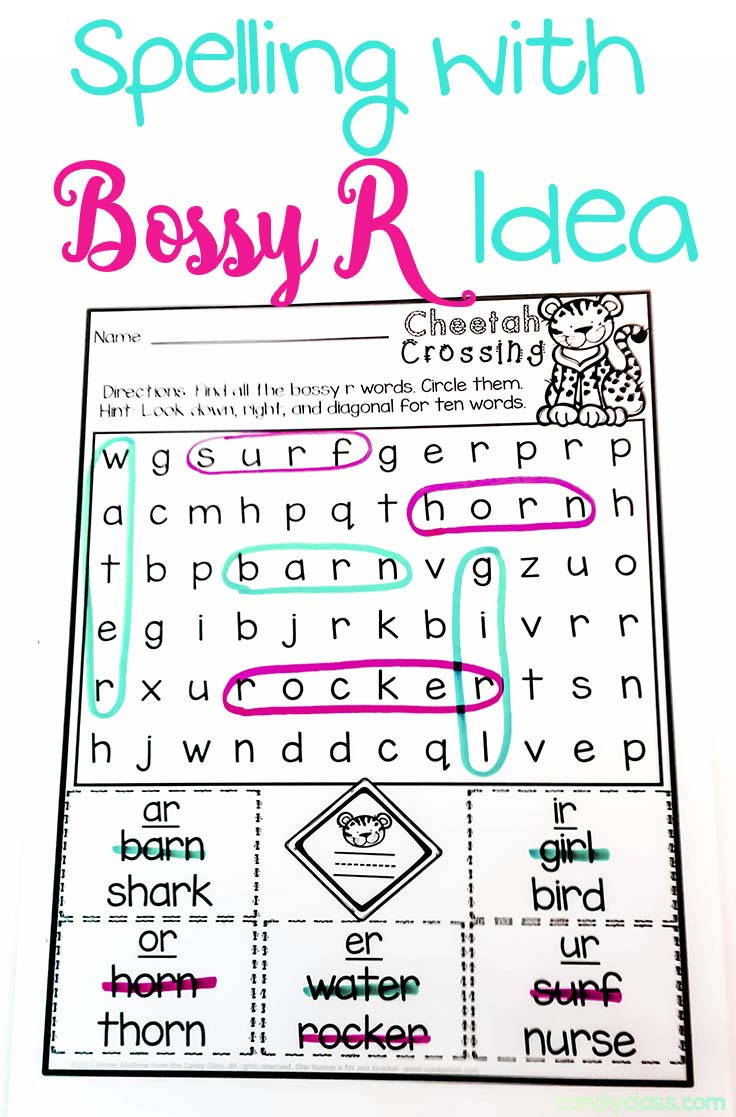 Worksheets R Controlled Vowels Worksheets phonics archives the candy class comprehending words with bossy r its important that students read controlled vowel within context