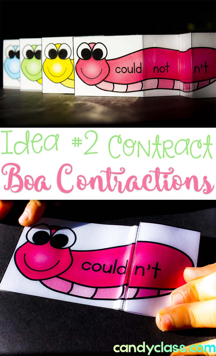 Boa Contraction Snakes for Kinesthetic Learning