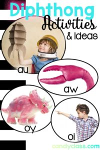 Activity Ideas for Teaching Diphthongs