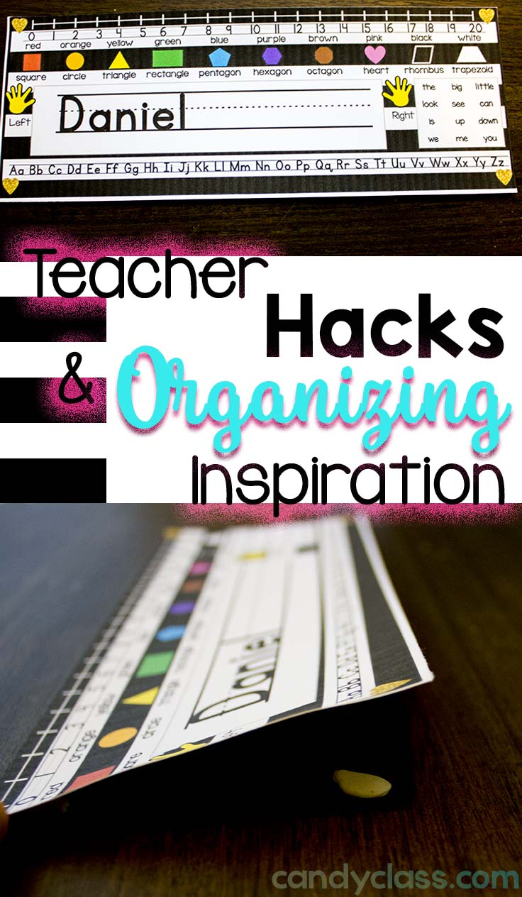 Teacher Hack with Name Plates