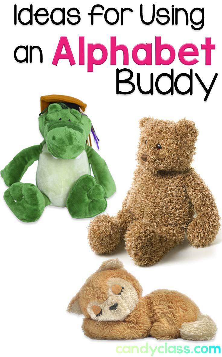 Stuffed Animals to Represent Alphabet Letters