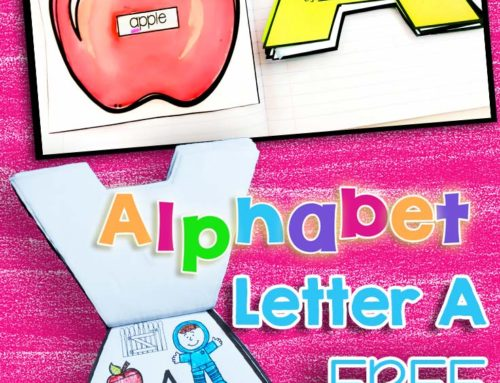 Engaging Alphabet Activities, Ideas & a Free Alphabet Flip Book!