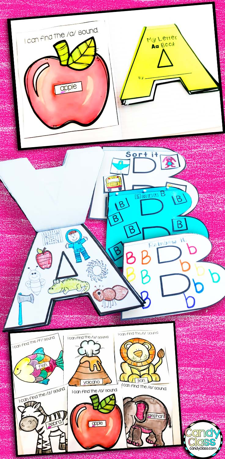 Alphabet Interactive Notebook Craft Book