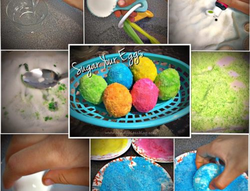 New Twist on Coloring Easter Eggs & Happy Easter!