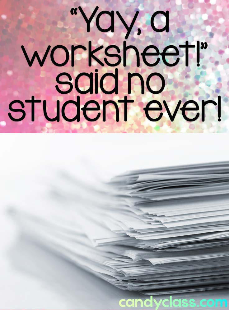 quote about worksheets