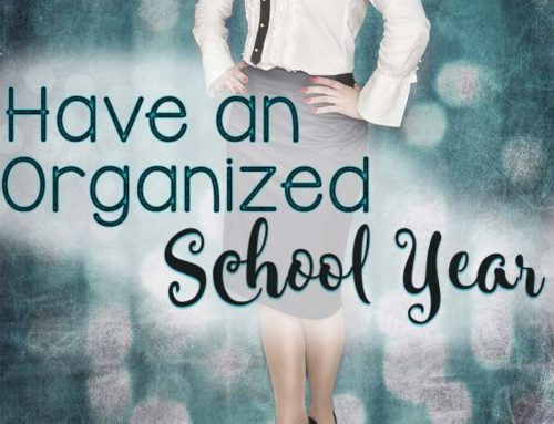 An Organized School Year