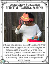 Engage students with a fun detective introduction