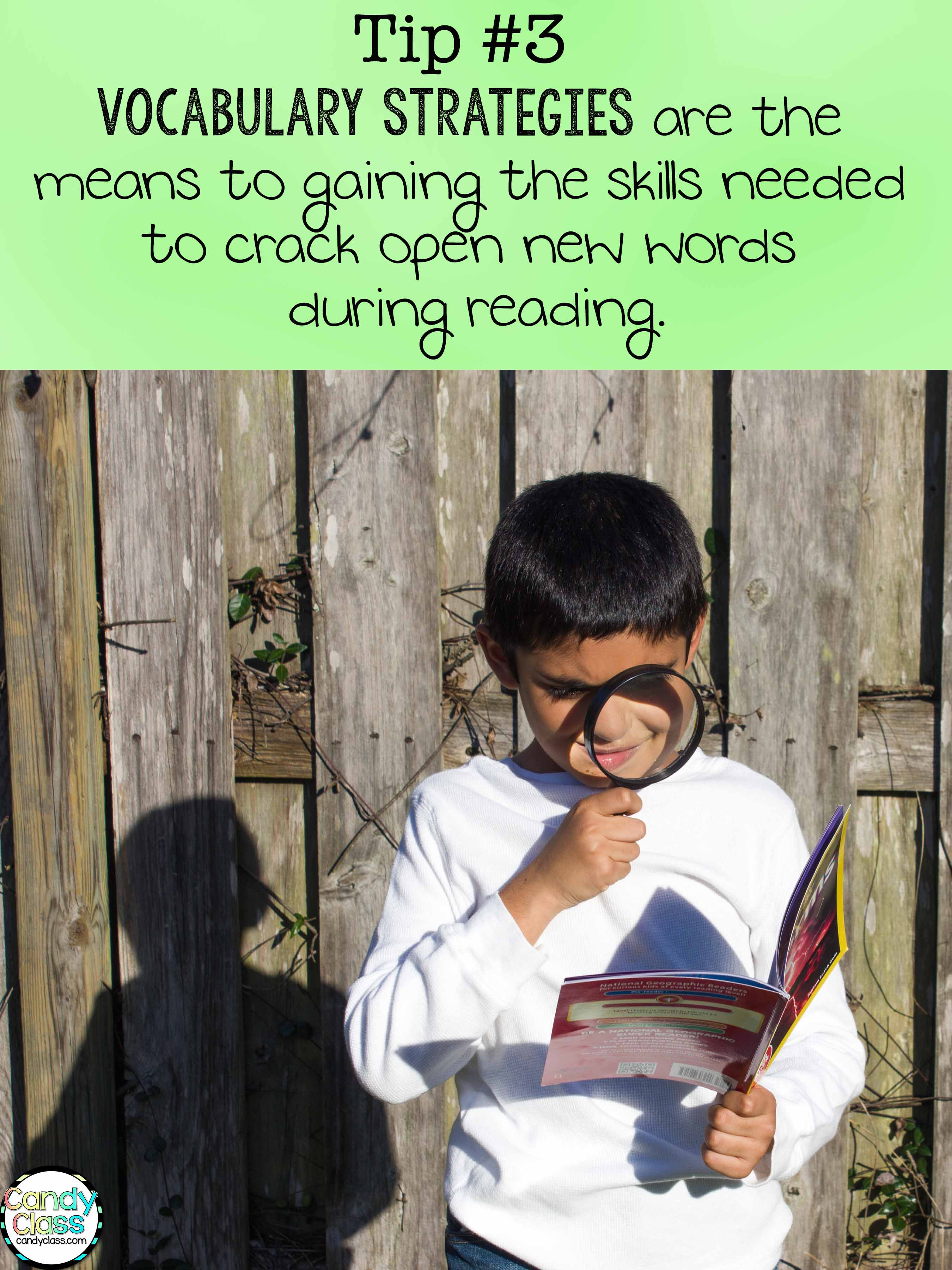Vocabulary Strategies Means to Cracking Open New Words Tip