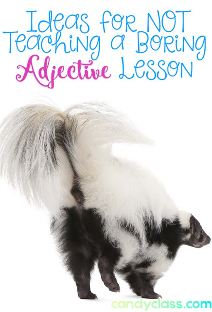 Ideas for Not Teaching a Boring Adjective Lesson