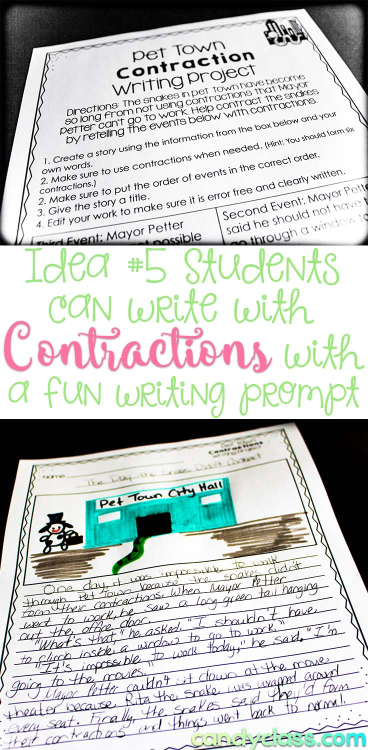 Writing with Contractions