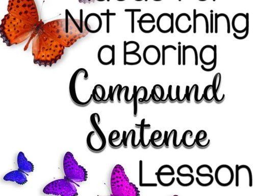 How to Not Teach a Boring Compound Sentence Lesson
