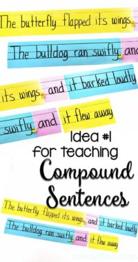 Silly Sentence Idea for Teaching Compound Sentences
