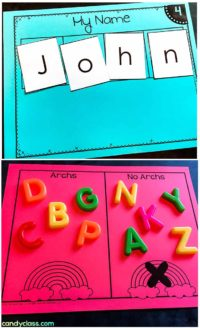 Guided Reading Name and Alphabet Activities