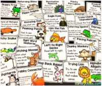 Fun Guided Reading Strategy Posters