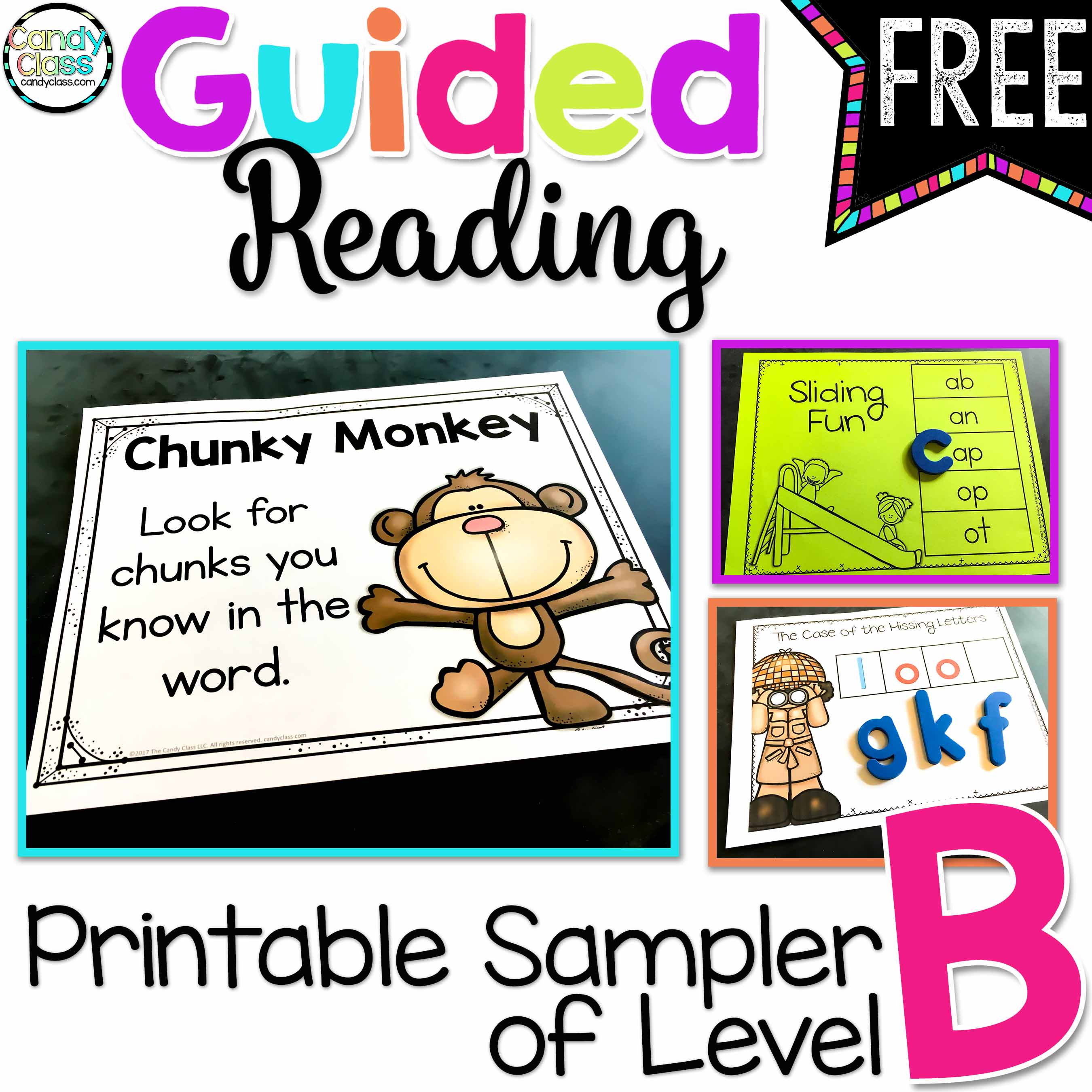 Guided Reading Level B Sampler