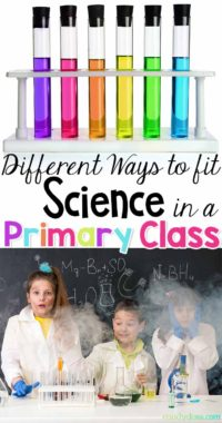 Different Ways to Fit Science in the Primary Class