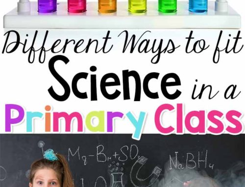 Fitting Science in Your Primary Class