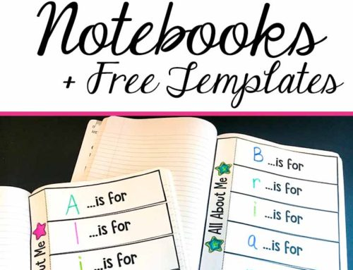 How to Customize Your Interactive Notebooks…A Video Tutorial