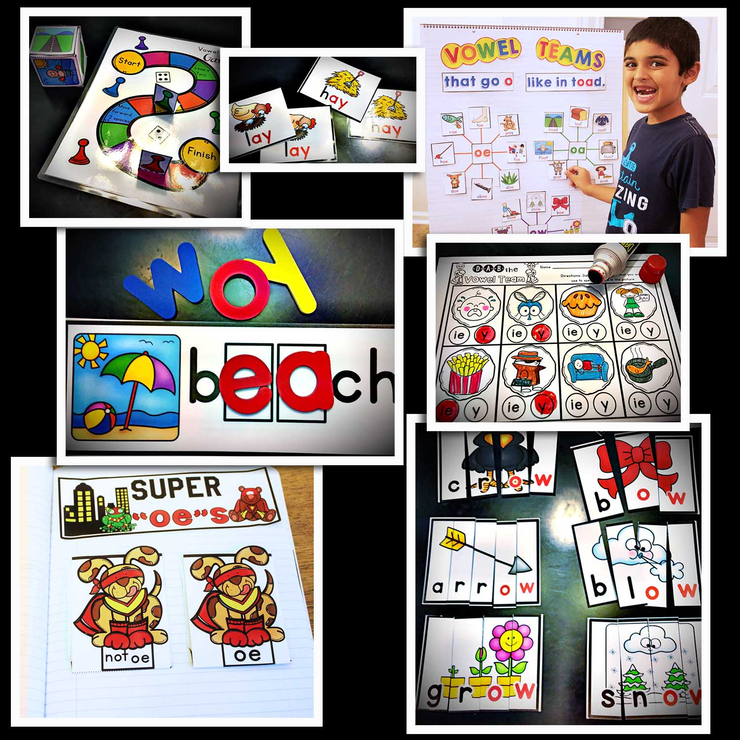 long vowel team bundle