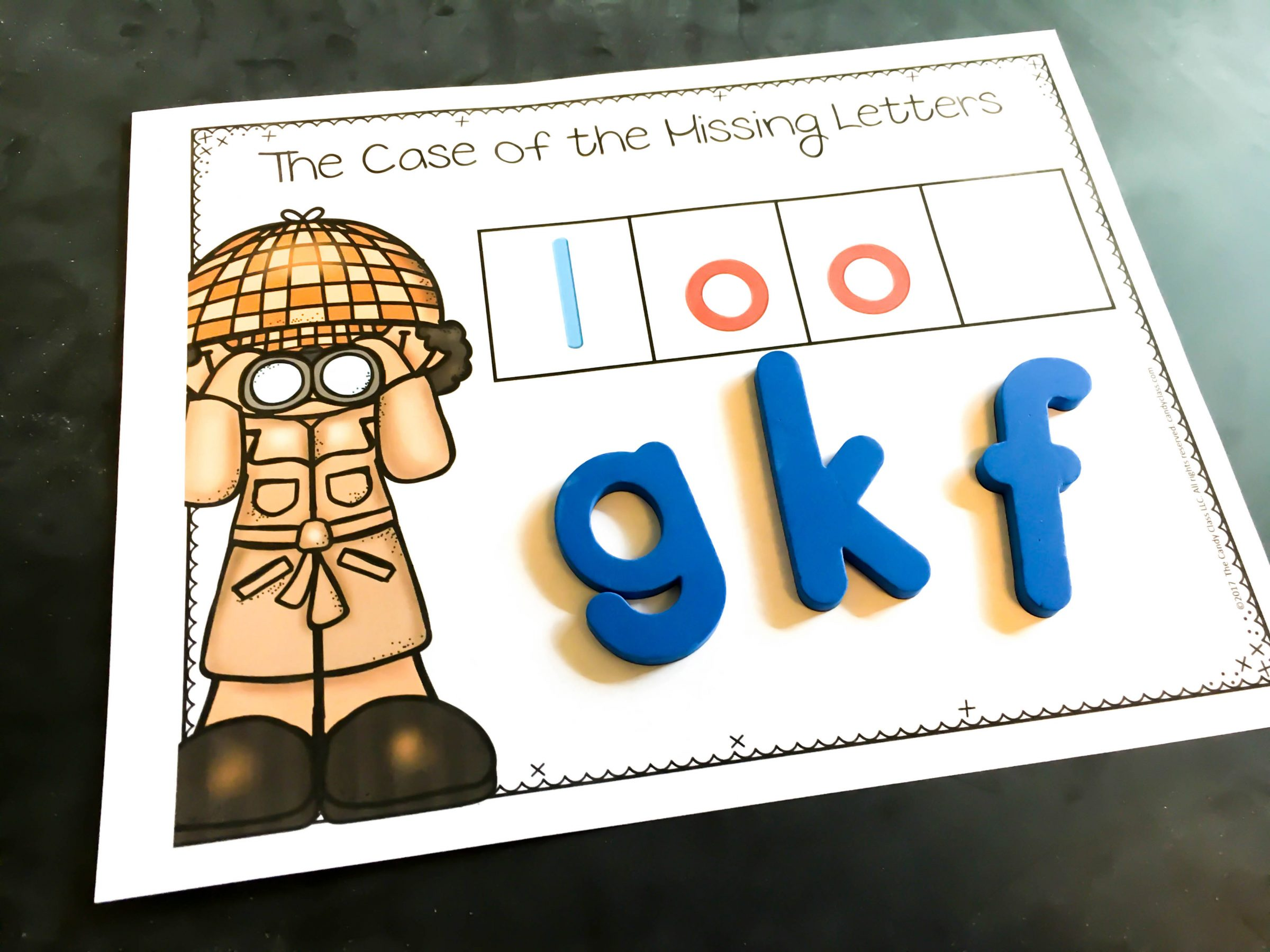 Missing Letters Sight Word Activities