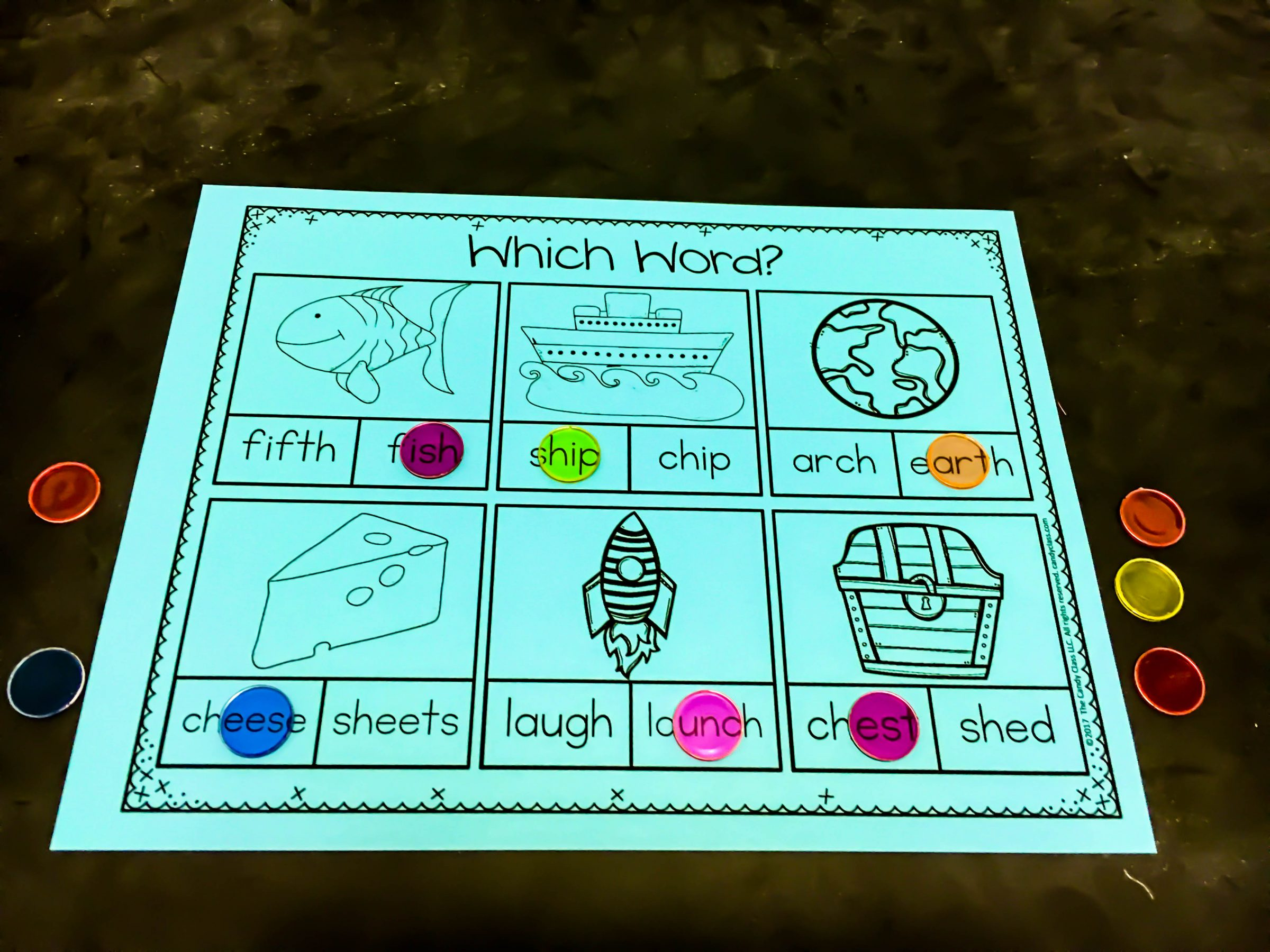 Blending Words Activity