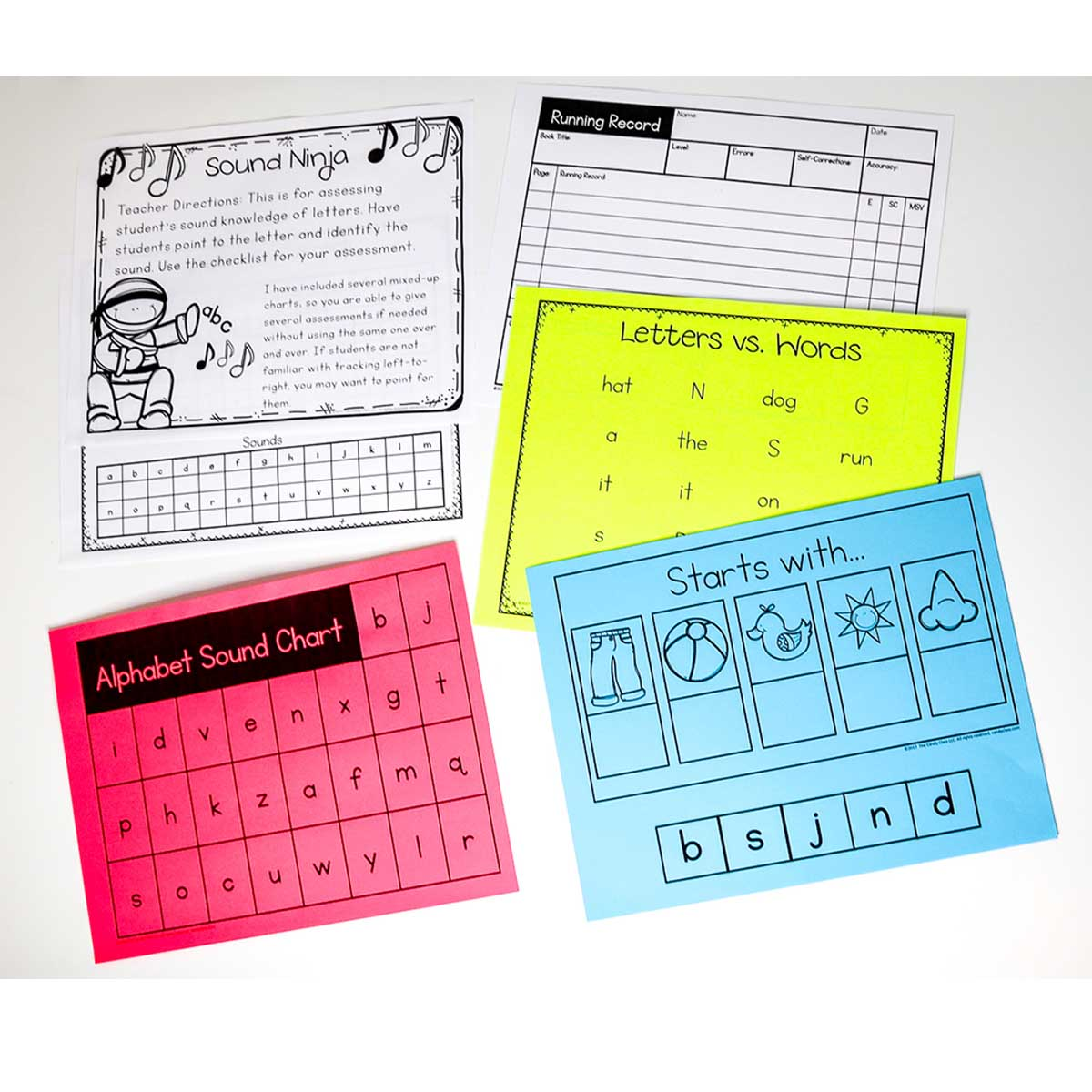 Assessments for Guided Reading