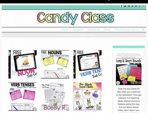 Access My Free Teacher Resource Library